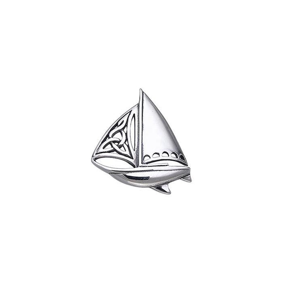 Celtic Sailboat Pendant TPD073