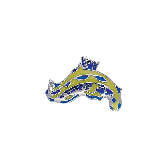 Nudibranch Sterling Silver Pendant TPD091