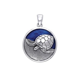Turtle Sterling Silver Pendant TPD1023