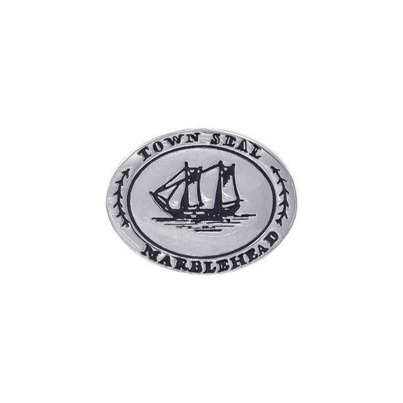 Marblehead Town Seal Silver Coin TPD4425