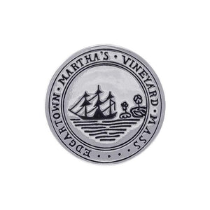 Edgartown Marthas's Vineyard, MA Silver Coin TPD4434 - Coins
