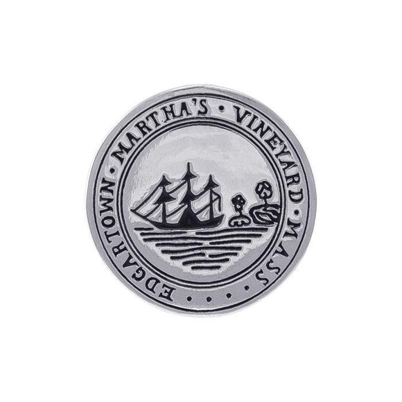Edgartown Marthas's Vineyard, MA Silver Coin TPD4434