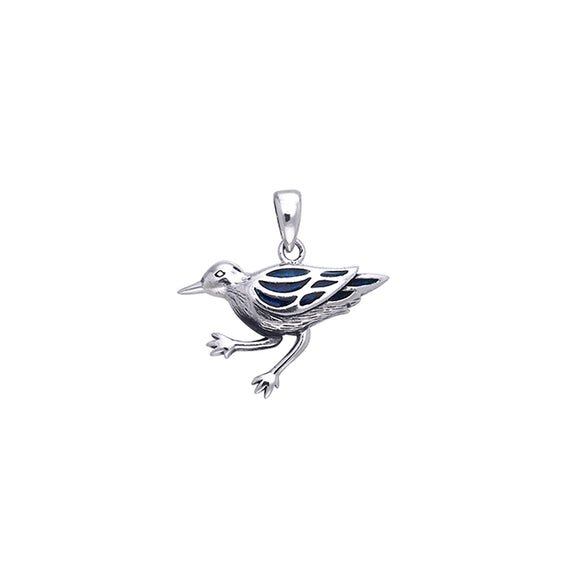 Shore Bird Sterling Silver Pendant TPD586