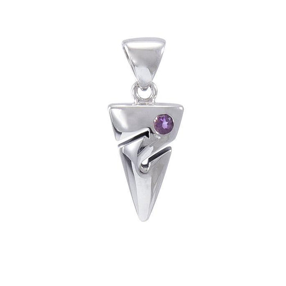 Cave Diving Sterling Silver Pendant TPD696