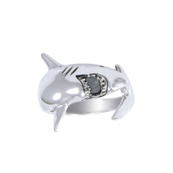 Great White Shark Ring TR1481 - Rings