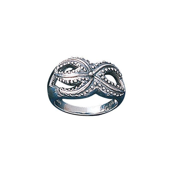 Starfish Sterling Silver Ring TR1513