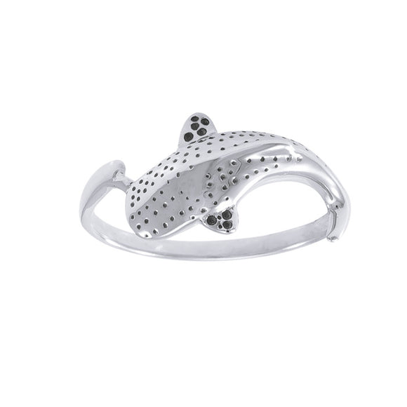 Whale Shark Sterling Silver Ring TR1765 - Rings