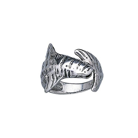 Whale Shark Sterling Silver Ring TR1849 - Rings