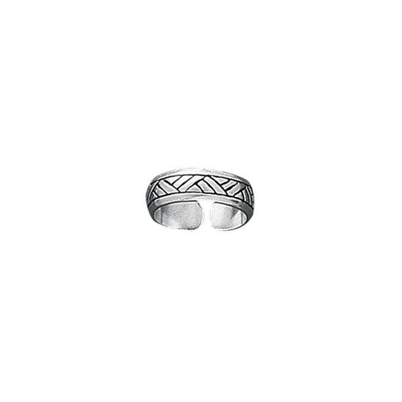 Sterling Silver Toe Ring TR239