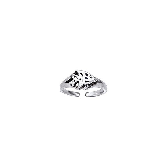 Angelfish Sterling Silver Toe Ring TR3718