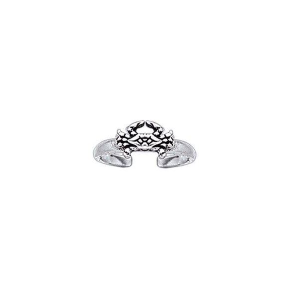 Blue Crab Toe Ring TR3722