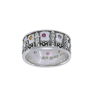 Stela Lighthouse T Sterling Silver Ring TR3748