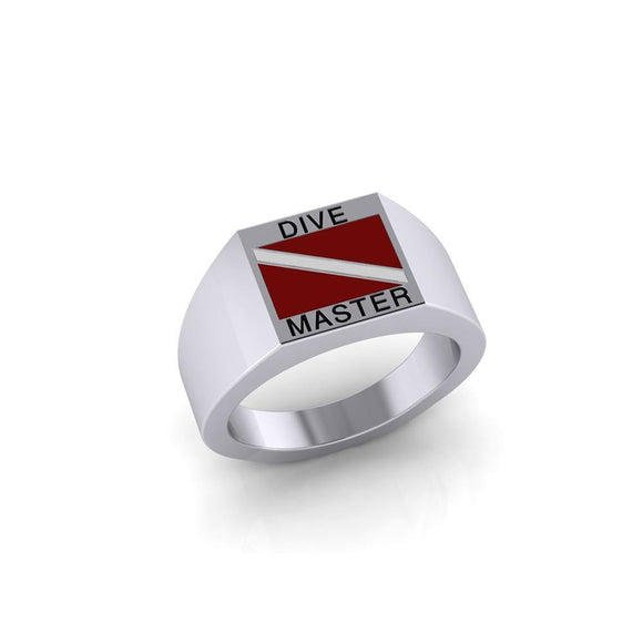 Dive Master Sterling Silver Ring TR3818