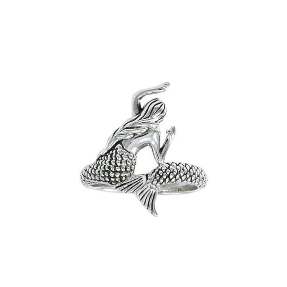 Mermaid Wrap Sterling Silver Ring TRI1327