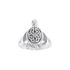 Celtic turtle Ring TRI1631 - Rings