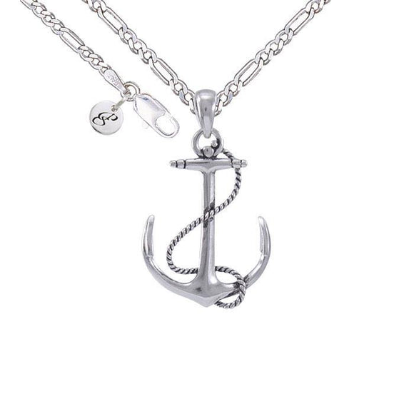 Anchor Rope Necklace Set TSE696