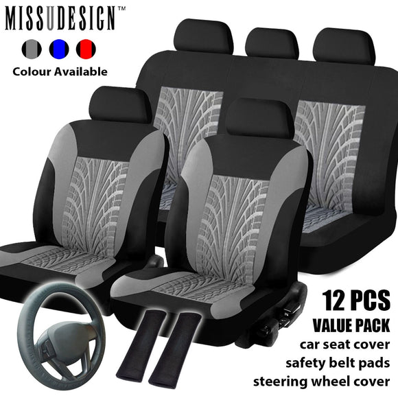 Universal Full Set Car Cover Fashion Seat