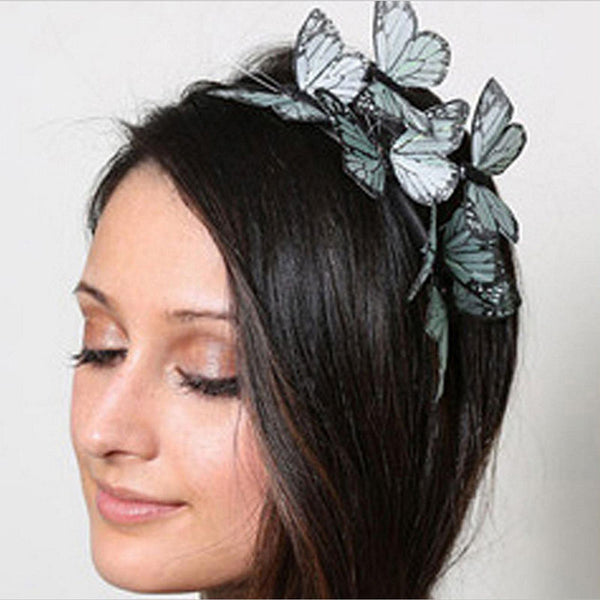 Cloth Butterfly Headband