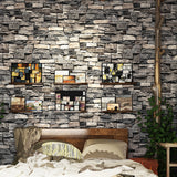 Vintage Stone Brick Wallpaper