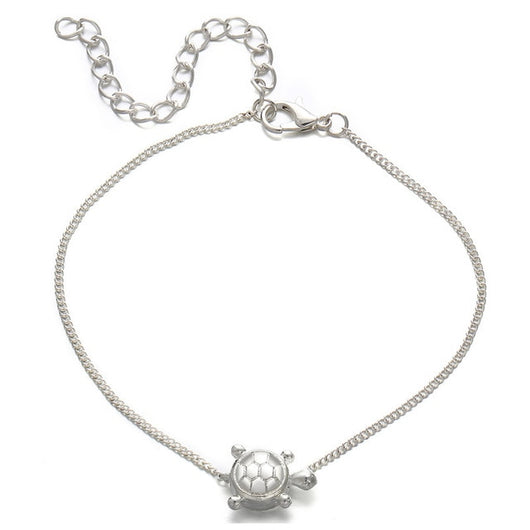 Silver Color Bohemian Friendship Anklet