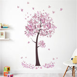 Flower Tree Wall Stickers
