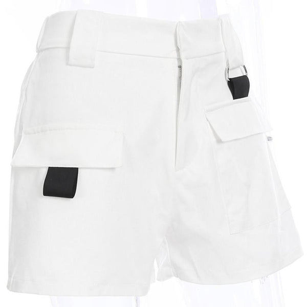 Women's Casual Cotton High Waist Shorts