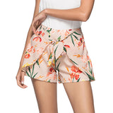 Women's Hot Floral Print Shorts