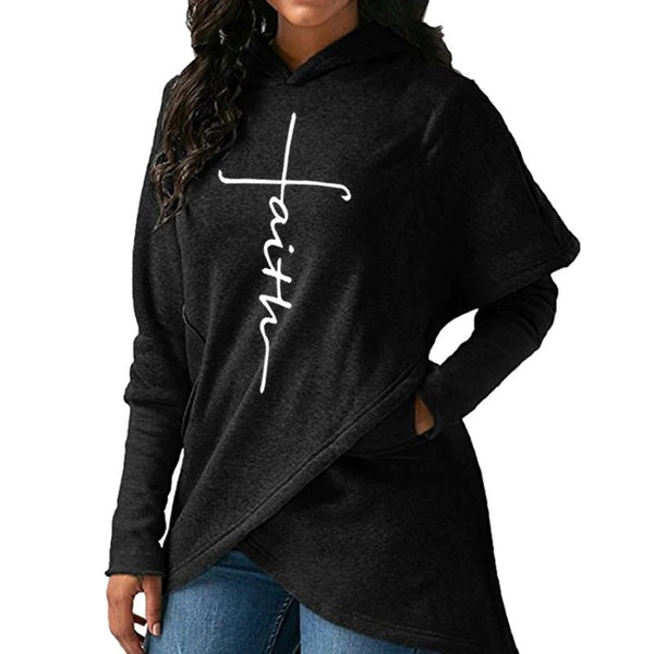 Casual Hooded Sweatershirts For Women