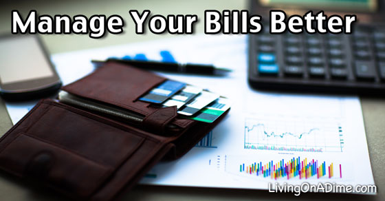 People often have problems managing bills