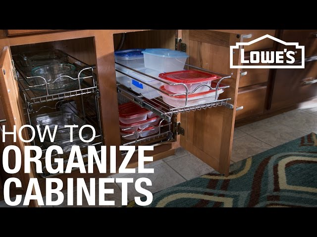 Need more kitchen storage? Learn how to plan and install cabinet organizers to get the most out of your cabinets
