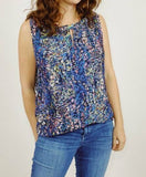 CABI STAINED GLASS MULTI-COLOR TOP - XS/S