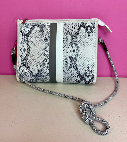 HAUTE SHORE NEW MARK SNAKE CROSSBODY