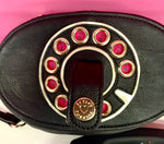 BETSEY JOHNSON RETRO PHONE BAG - WORKS WITH CELL