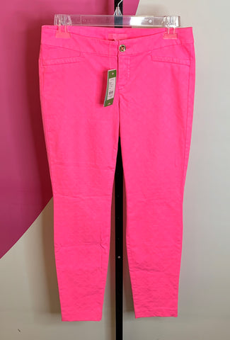 LILLY PULITZER NEW KELLY SKINNIES - XS/S