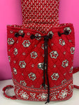 VERA BRADLEY RETIRED BANDANA MINI BACKPACK
