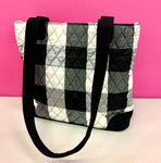 VERA BRADLEY RETIRED BUFFALO PLAID TOTE