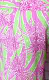 LILLY PULITZER LIONFISH DRESS - XS
