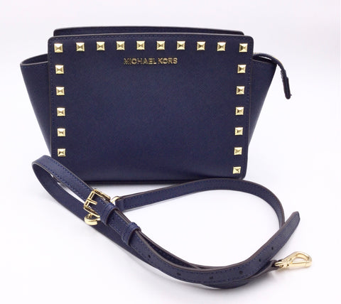 MICHAEL KORS STUDDED CONVERTIBLE SELMA