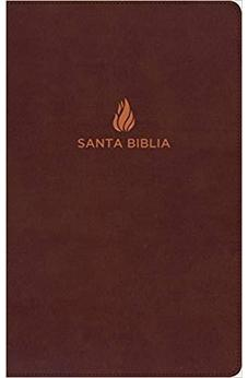 RVR 1960 Biblia Ultrafina, Marron