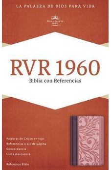RVR 1960 Reference Bible, Blush/Wine Lt