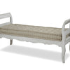 Bed End Bench with cushion (qty of 1 in stock)