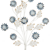 Blue Ombre Metal Flower Wall Art (2  in stock)