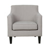 Braxton Chair Pale Grey Stripe (4 in stock)