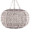 Kurv Macrame Ceiling Fixture  (qty of 1 in stock)