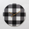 Plaid Clock (qty of 1 in stock) Instore sale now 25% off until May 31
