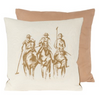 Cushion Polo Player 22 x 22 (2 in stock)