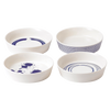 "Royal Doulton Pacific 6-1/4"" Serving Dish 4pc set (3 sets in stock)"