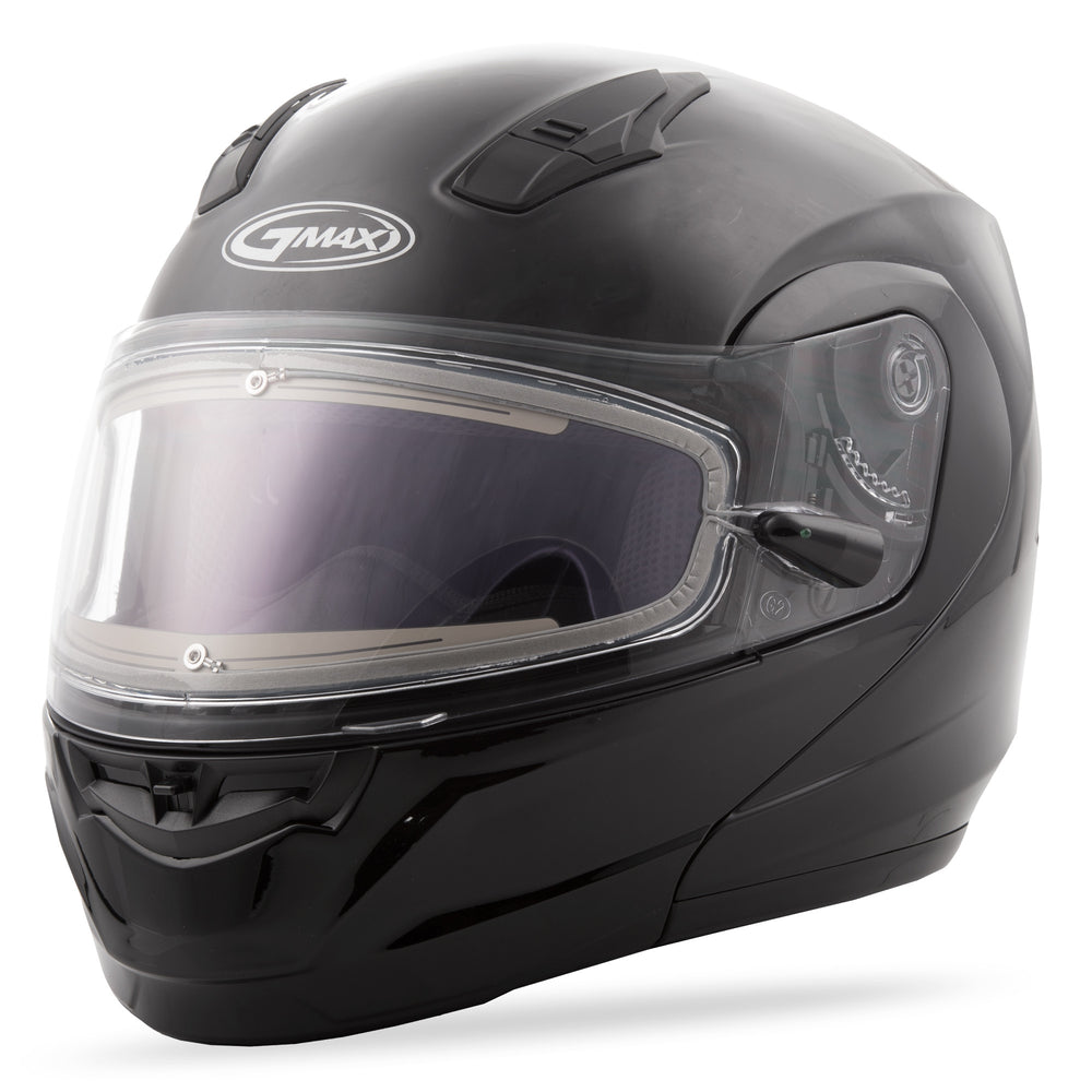 MD-04S MODULAR SNOW HELMET W/ELECTRIC SHIELD BLACK XS