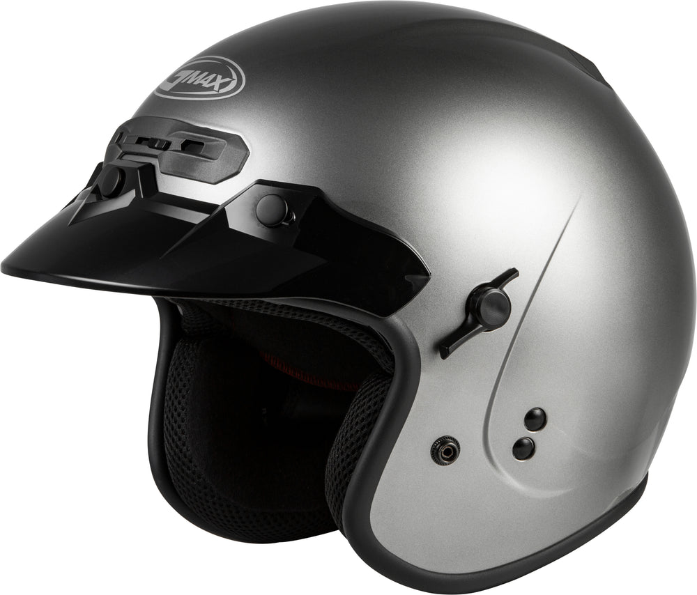 Load image into Gallery viewer, GM-32 OPEN-FACE HELMET TITANIUM MD
