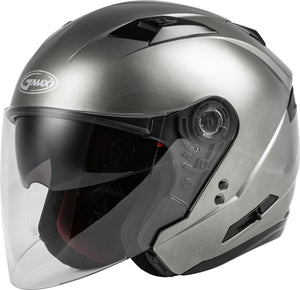 OF-77 OPEN-FACE HELMET TITANIUM MD